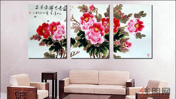 客厅背景墙挂画风水你知道哪些呢-资讯-广西房地产网
