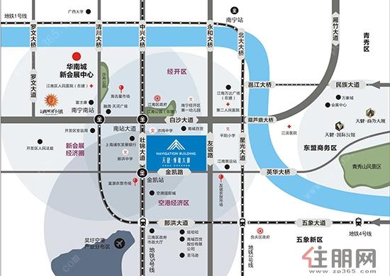 南宁吴圩空港新区地图