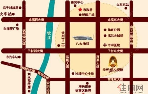 河东区交通图