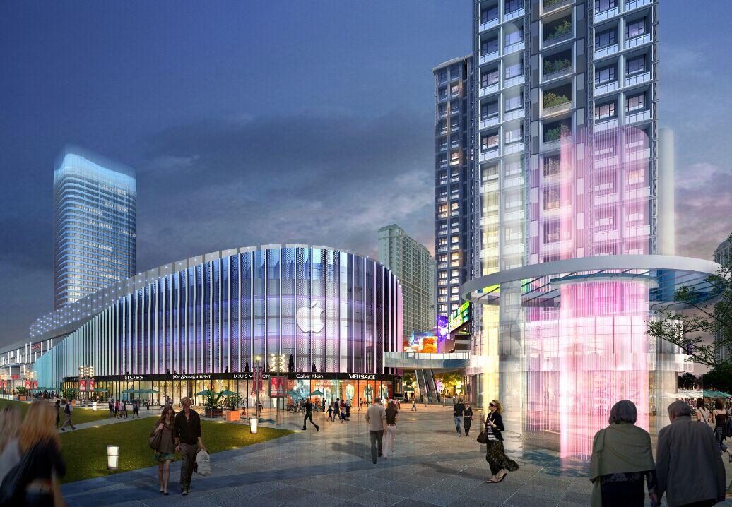 宝能城市广场——中心舞台 崛起中心大城