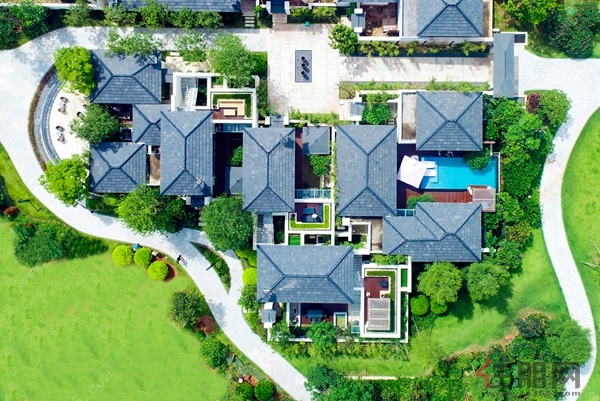 滨海城市建设发展有限公司在钦州滨海新城海湾打造的一个度假别墅项目