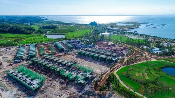 也是滨海新城整体规划走向落地的重要节点,钦州将由内陆城市发展为