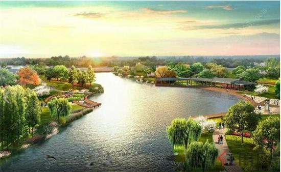 """""""3公园  1湖景""""全生态景观住宅区,为懂生活的人量身打造会呼吸的生态"""