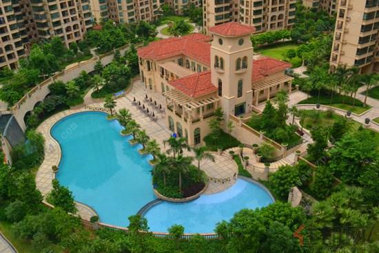 地中海建筑与皇家园林相辉映 瀚林美筑打造度假式的生活居所