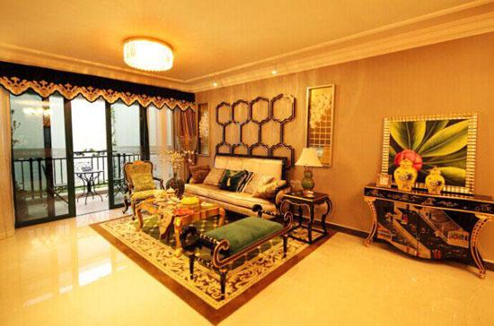 恒大绿洲精装样板间-好房还选绿洲 恒大绿洲46 楼开盘特惠85折高清图片