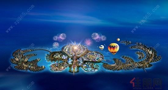 海南恒大海花岛形象广告亮相央视