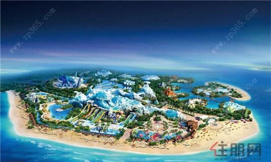 恒大海南海花岛开创世界的文化旅游新