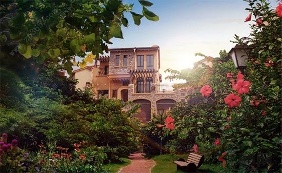 橘子红了别墅 熟 了 嘉和城的别墅组团上线啦