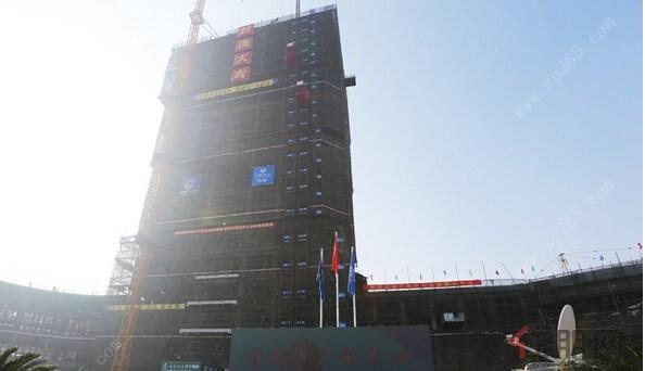 桂林广电中心主体工程封顶 2016年全部建成投入使用
