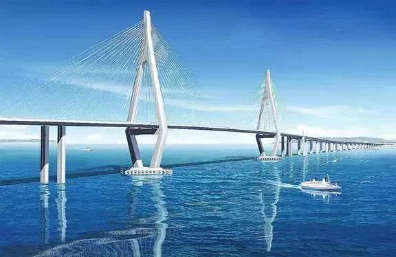 港澳珠大桥图片