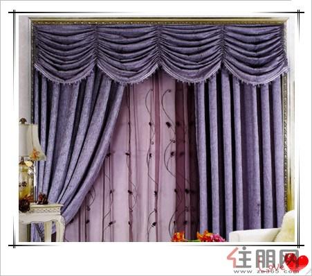 中式风格窗帘图片图片;