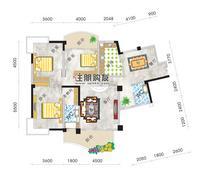 东标准层14#楼户型