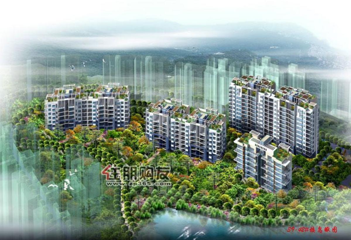 天池山2010年10月效果图