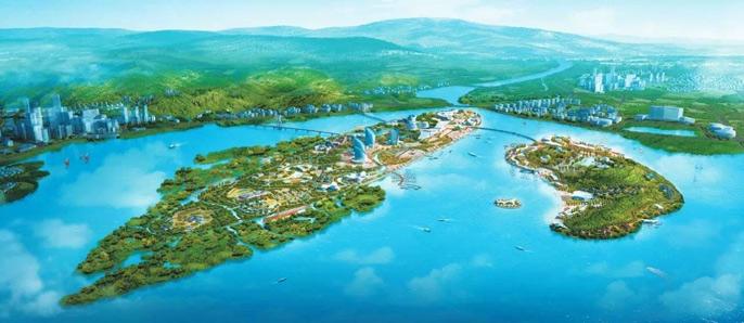防城港海湾新区众多项目规划图出炉