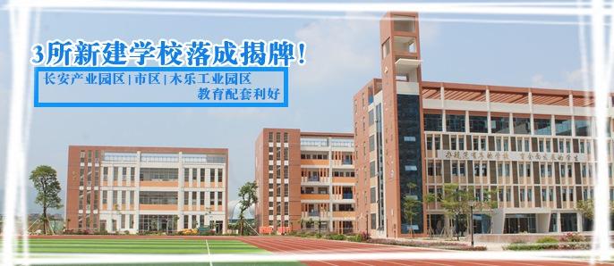 桂平三所新建学校落成揭牌!