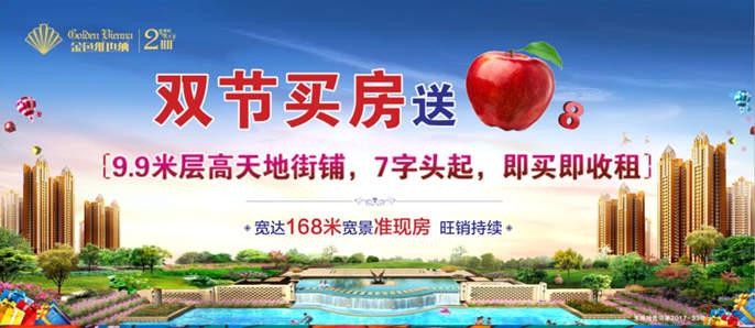 双节买房送苹果8 9.9米层高天地街铺 7字头起送!