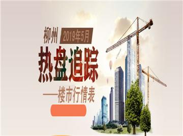 2019年5月柳州楼市行情表