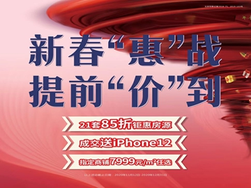 """银丰新春提前放""""价"""" 21套85折"""